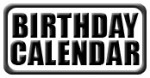 African Wildlife Birthday Calendars