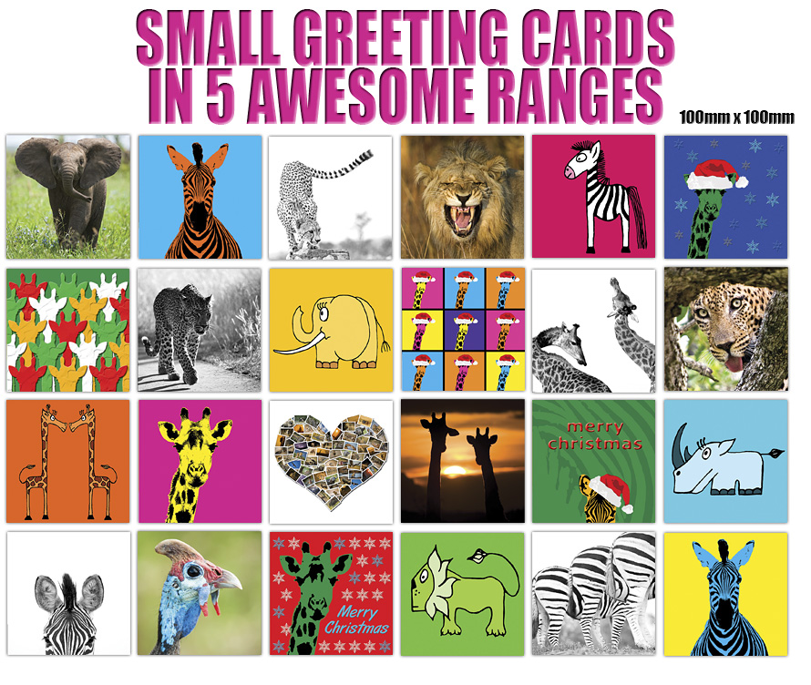 Creative Natures Small Greeting Ranges