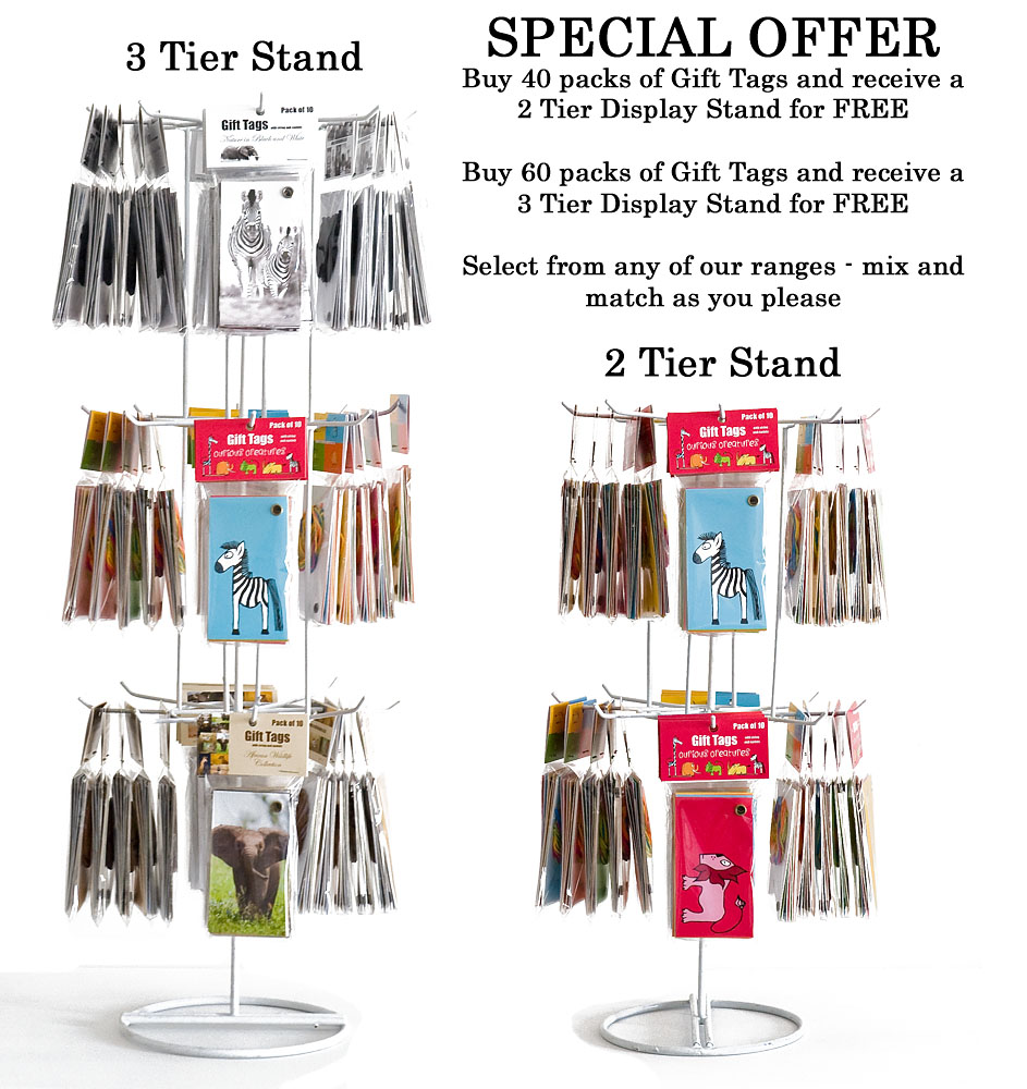 Gift Tag Display Stand Special Offer