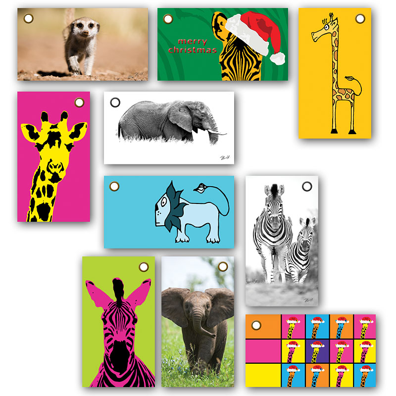 Examples of Gift Tags by Creative Nature