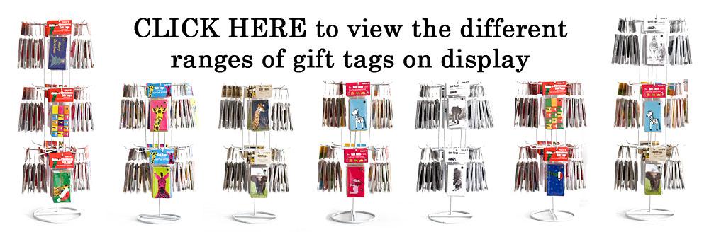 Creative Nature Gift Tag Display Options